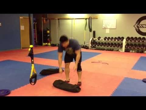 TRX & Sand Bag Workout By Fitness Evolution-IA