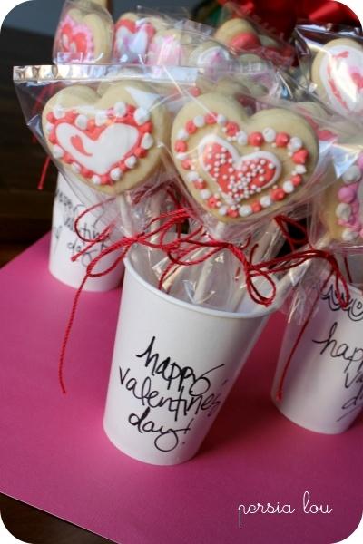 Valentine's Cookie Pops!