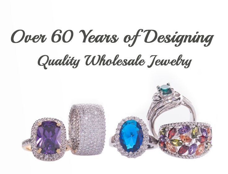 Colorful Wholesale Jewelry Rings