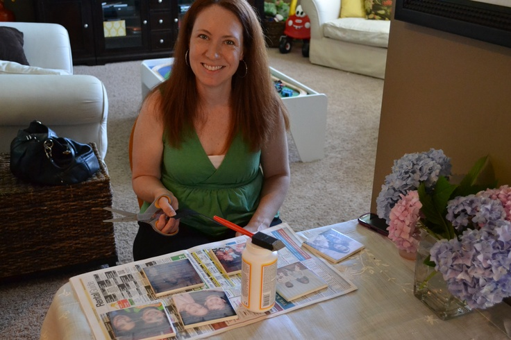 This mom made drink coasters with ceramic tiles, pictures, a bit of felt and mod podge.Pinterest Parties, Crafts Ideas, Mod Podge, Drinks Coasters, Ceramics Tile, Learning Stuff
