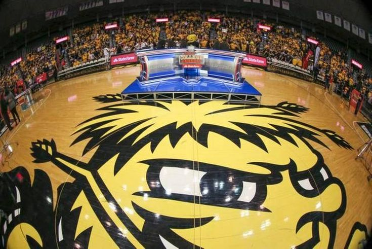 ESPN College Gameday broadcast from Koch Arena on Saturday morning.