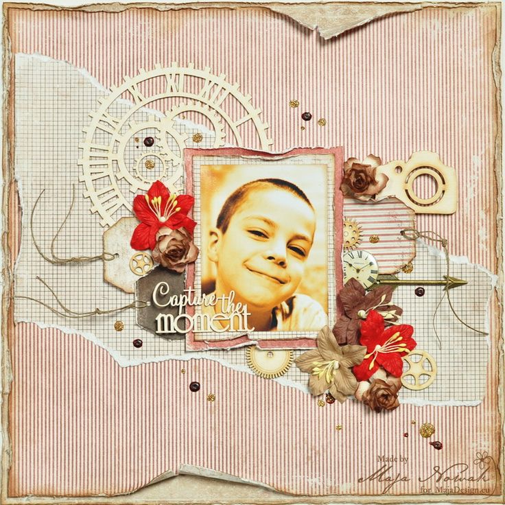 CraftHobby Oliwiaen: Capture the Moment. layout 30x30
