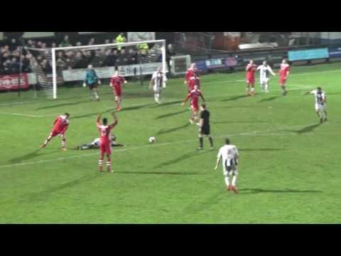 GOALS | Stafford Rangers 2 - 1 Hednesford Town | Fa Trophy [15.11.16]