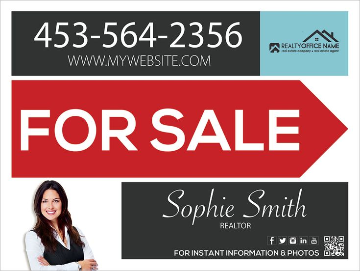 Best 25+ Real estate signs ideas on Pinterest Real estate office - house for sale sign template