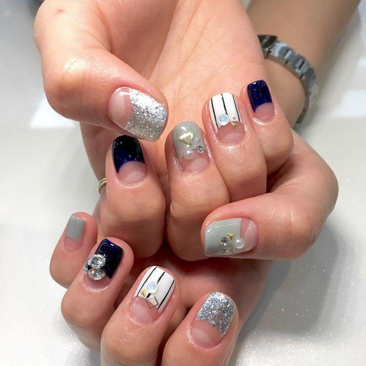 The 25 best korean nails ideas on pinterest korean nail art see this instagram photo by hhhe korean stylekorean nailsdesign prinsesfo Image collections
