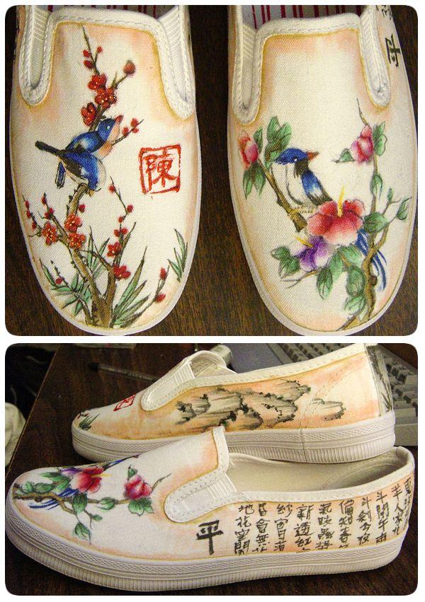 Harmony and Peace Shoes by someorangegirl.deviantart.com on @DeviantArt