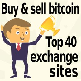 Top 40 bitcoin exchanges: buy bitcoin & cryptocurrency with credit card PayPal, cash, & bank transfer. Beginner-friendly sites included.