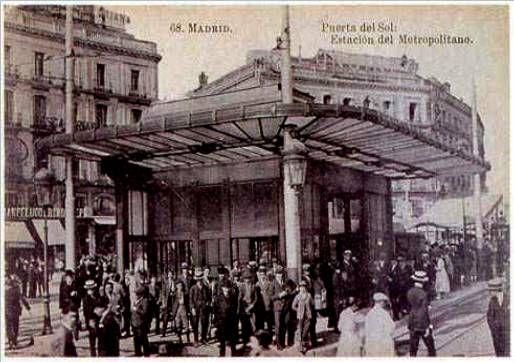 Puerta del Sol Metro station (1920)
