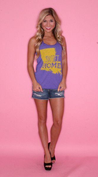 """Home Sweet Home"" LSU shirt"