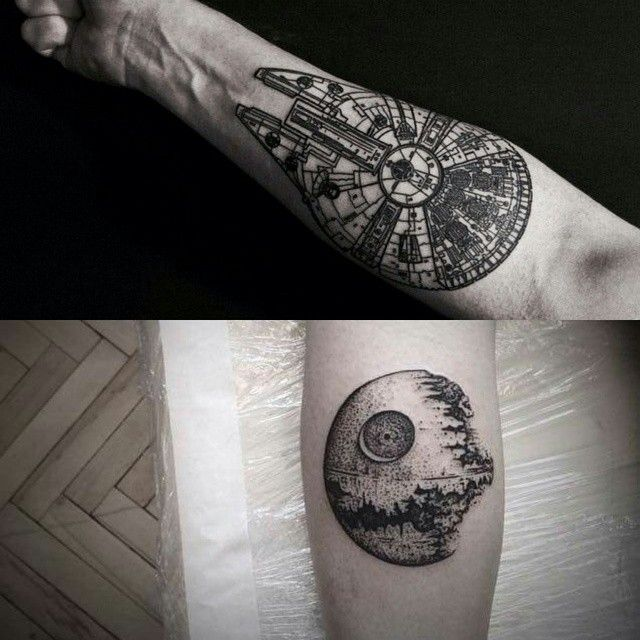 dammit! why do i always want the MOST detailed star wars tattoos?! bbradsherkk@instagram