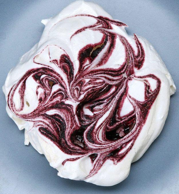 Açaí Meringue Cookies | Here's A Recipe For Açaí Meringue Cookies That Will Impress Your Mother