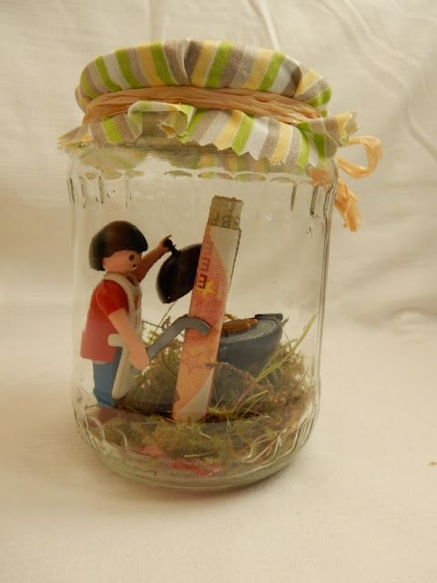 Geschenk im Glas / Gift in a jar / Upcycling