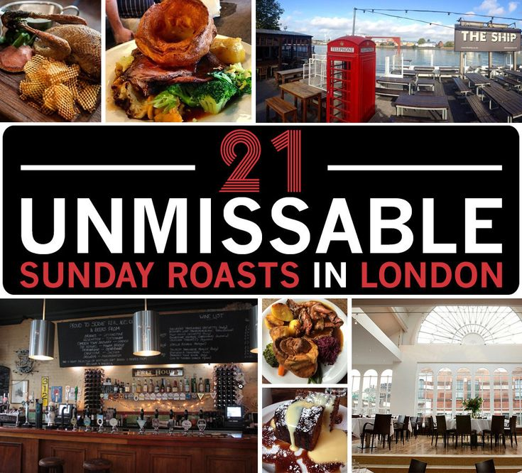 21 Mouthwatering Sunday Lunches In London