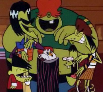 Powerpuff Girls Image: Gangreen Gang