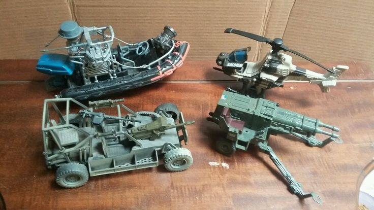TOY ARMY VEHICLES FOR THE 4 INCH FIGURES