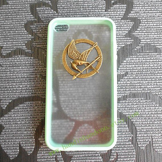 Iphone 4/4s/5/5s/5c Case, The Hunger Games Mockingjay Logo Iphone Case,mint green color frosted translucent iphone 4/4S/5/5s/5c case on Etsy, $12.08 CAD