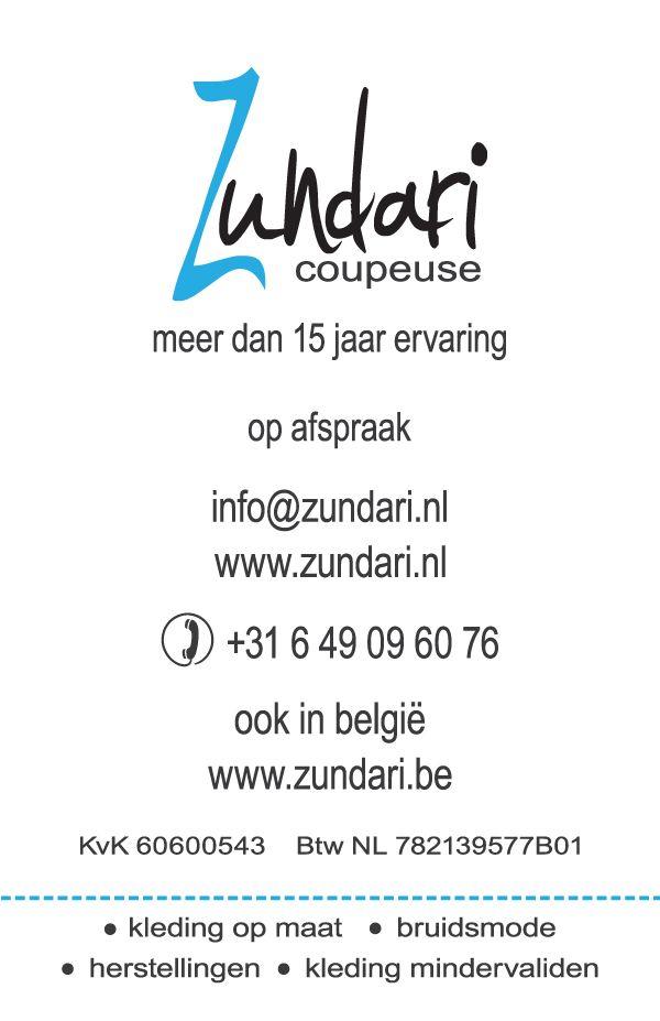 zundari.nl zundari.be  maatwerk - unieke creaties - meer dan 15 jaar ervaring