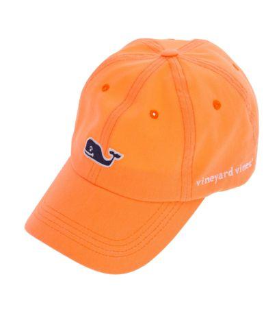 Vineyard Vines Neon Orange Hat
