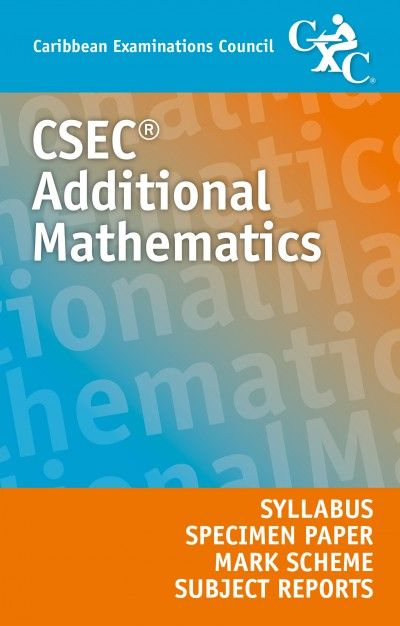 27 best csec syllabuses images on pinterest caribbean business csec additional mathematics syllabus specimen papers mark schemes and subject reports ebook fandeluxe Gallery