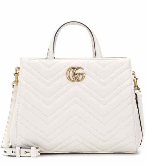 Borsa GG Marmont Small in pelle matelassé | Gucci