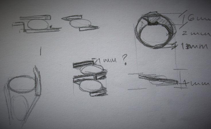 Estudos para anel. Resultado final em http://www.imbu.pt/portfolio/atlantico-anel/