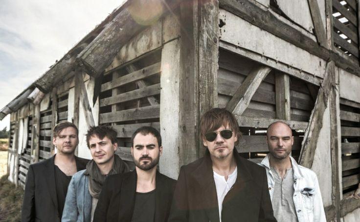 Michal Hrůza and his band