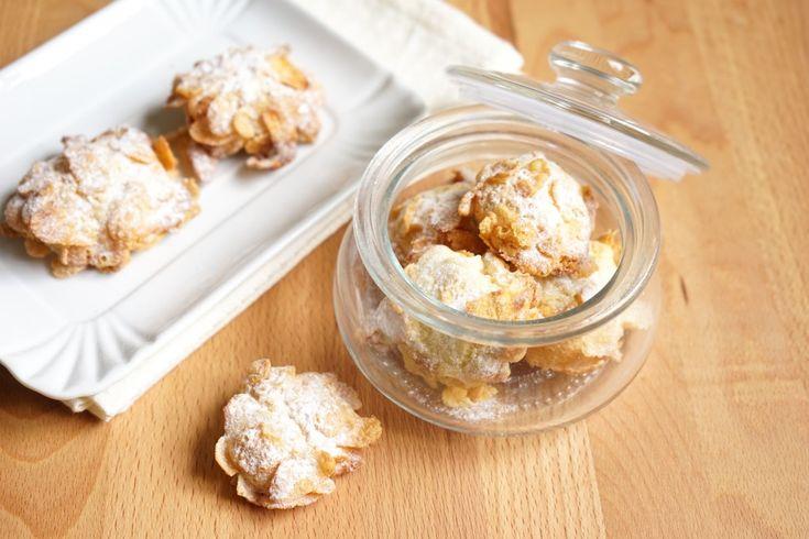 Rose del deserto: biscotti con i cor  n flakes