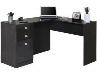 Mesa para Computador/Escrivaninha Canto Extrema - 1 Porta 2 Gavetas - Somopar