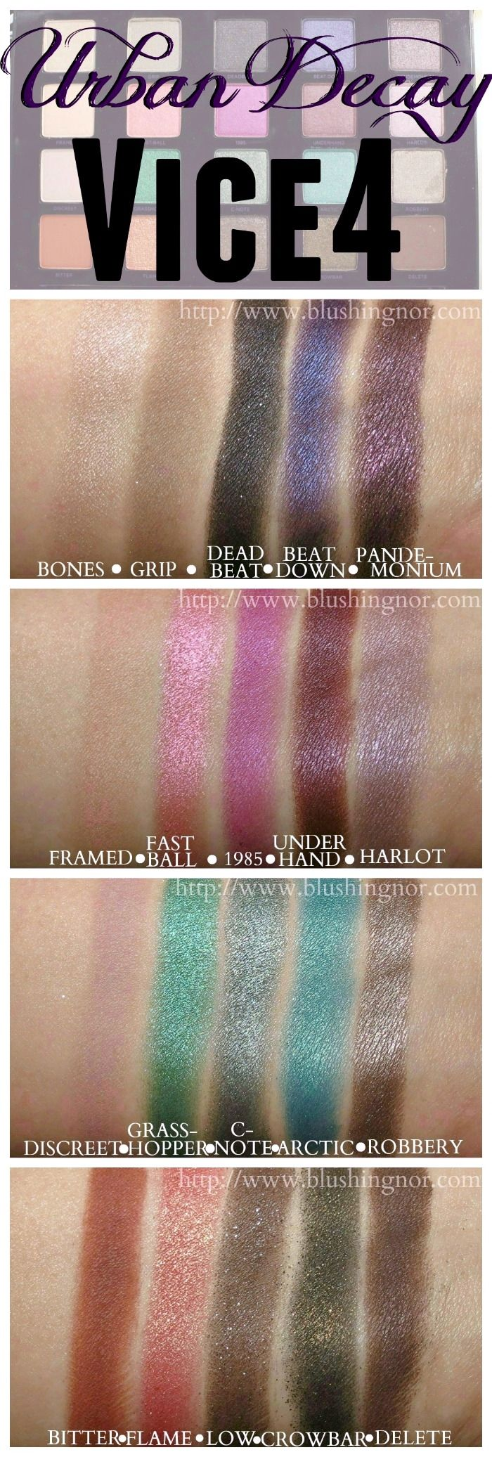 180 Best Images About Eyeshadow Swatches On Pinterest