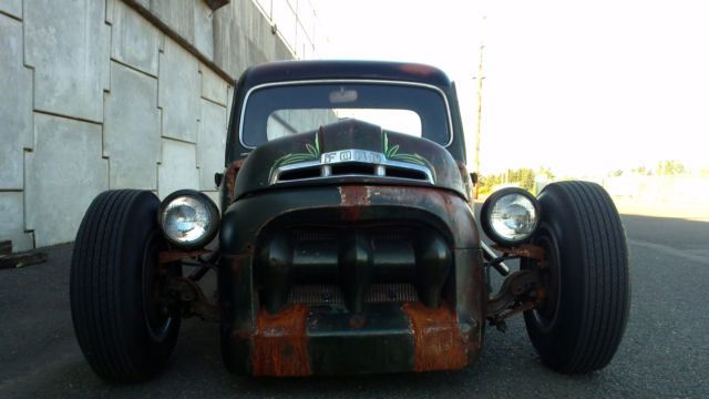 1951 Ford F1 Rat Rod - Rat Rod Magazine Build Off Competitor Pickup Truck