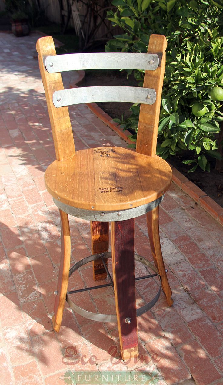 Wine Barrel Furniture Chair