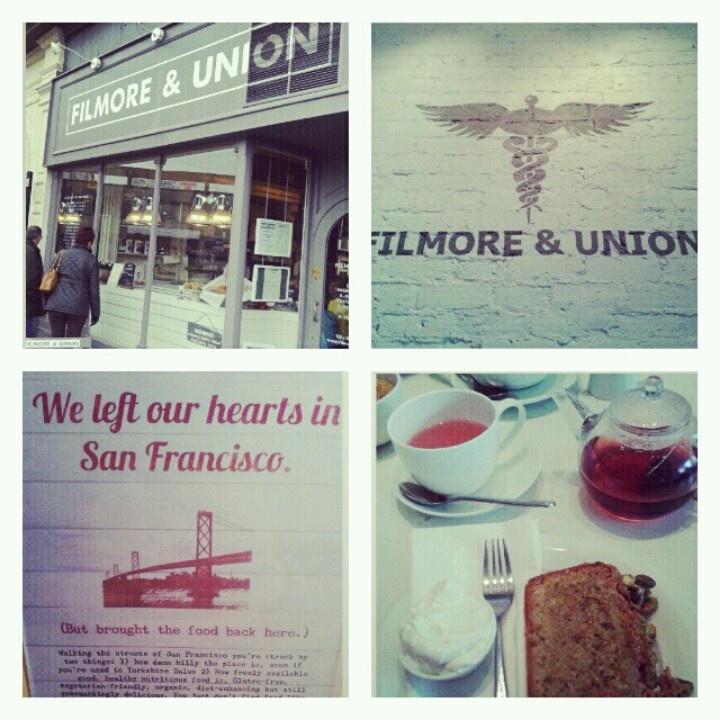 Filmore & Union, Harrogate - BEST health food cafe :)