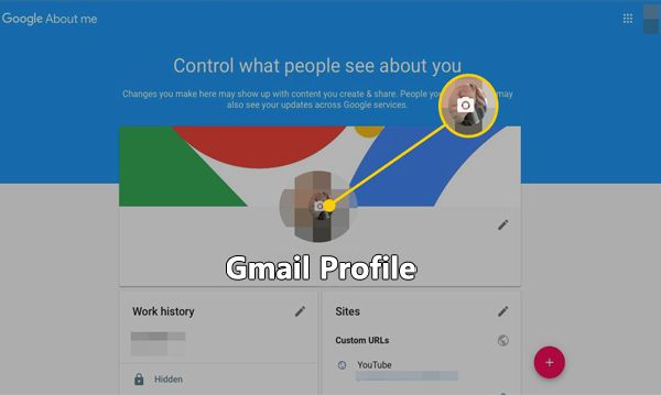 Gmail Profile Is Where Gmail Users Set Up Their Accounts Every Account Owner Strives To Set Up Their Profile To Enable The Profile Profile Picture Action List