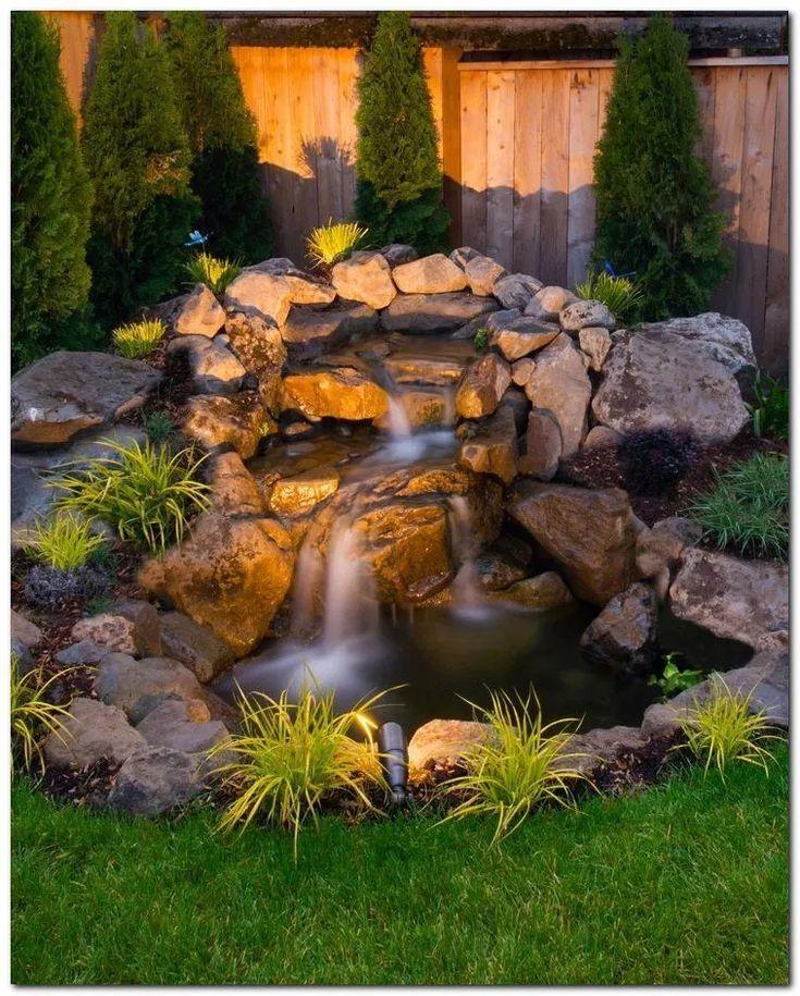 Beautiful Backyard Pond Ideas Diy Crafts Blog In 2020 Waterfalls Backyard Ponds Backyard Backyard Water Feature