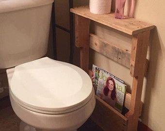Reclaimed Wood Copper Rod Double Towel Rack Bathroom Shelf Rustic Home Decor Pallet Furniture Towel Rack by NCRusticdesigns