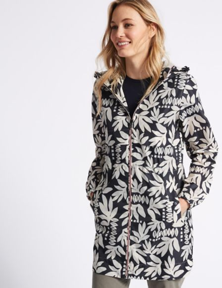 Floral Print Parka with Stormwear™