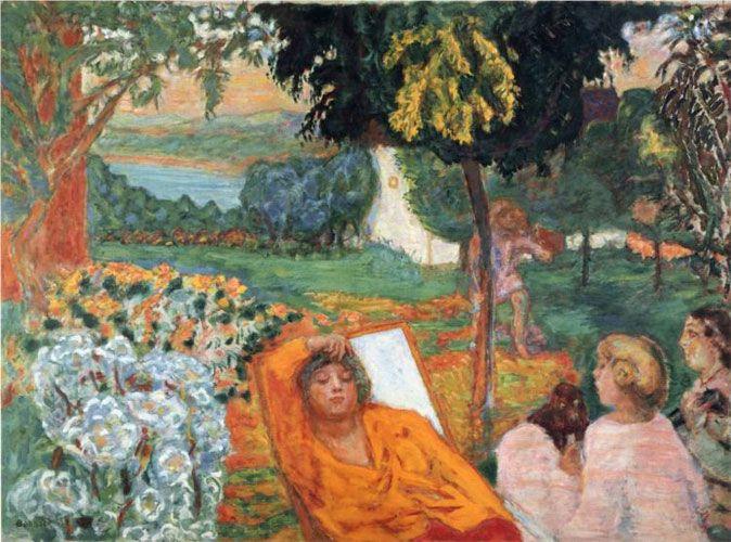 Пьер Боннар. «Сиеста». 1914 г.