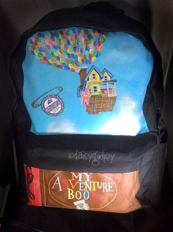 school Kindergarten bags handmade and hand-painted travel