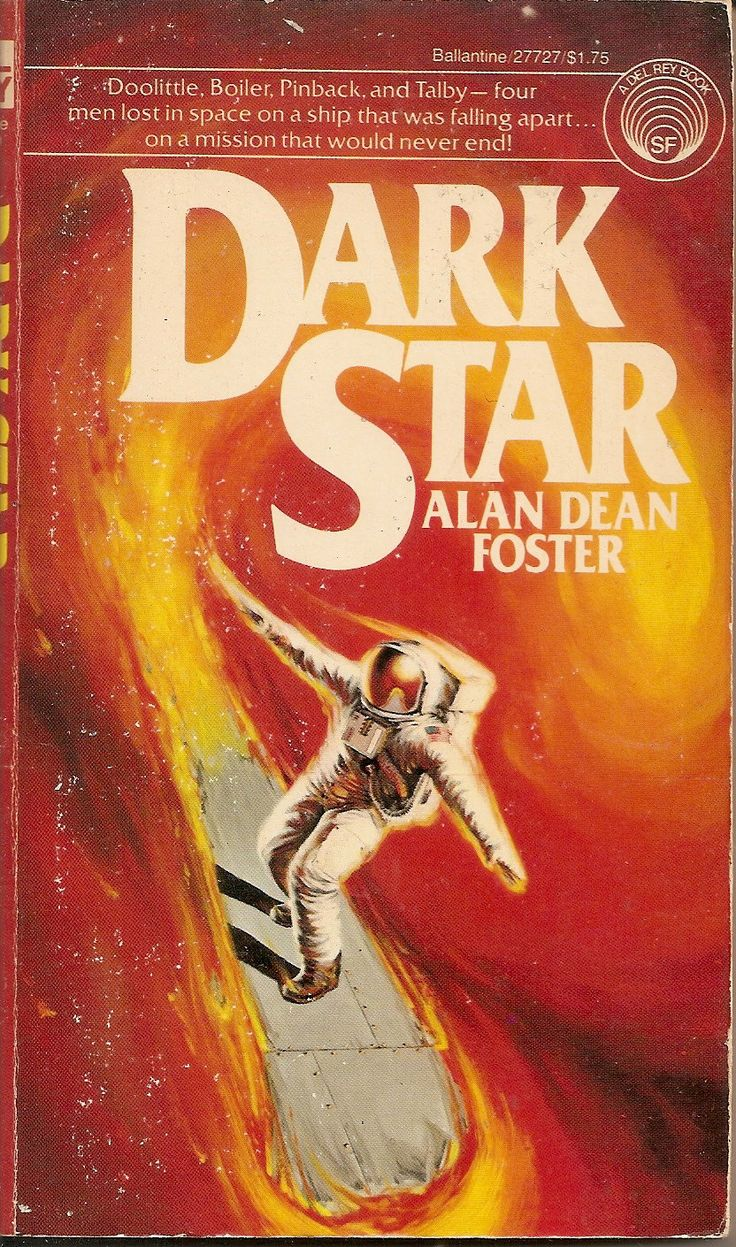 Dark Star - Alan Dean Foster, cover by Michael Herring