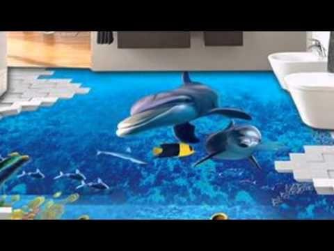 Papel de paredes E porcelanato liquido em 3d - YouTube