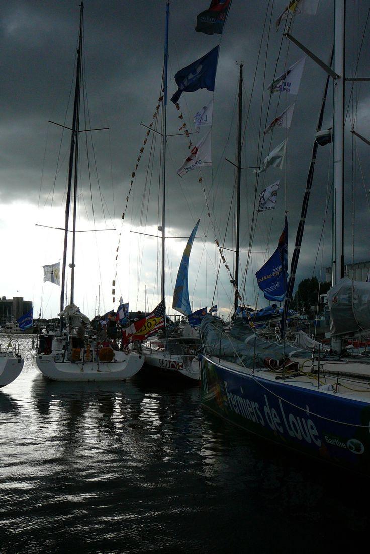 Orage en vue au port de Québec (2007)