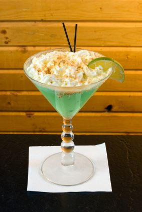 KEY LIME PIE MARTINI    Key Lime Pie Martini    3 tablespoons Licor 43 (vanilla liqueur)   1 tablespoon lemon or citrus flavored vodka  2 tablespoons key lime juice or 2 tablespoons fresh lime juice  2 tablespoons heavy cream  2 tablespoons finely crushed cinnamon graham crackers (optional)  Add all ingredients except garnish in a cocktail shaker. Add ice. Shake until frothy and well chilled.