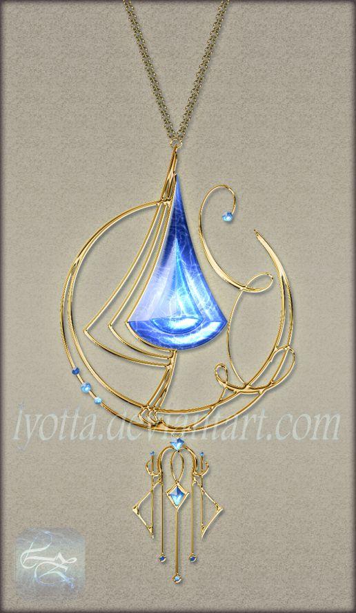 Pendant amulet lyotta 13 by Lyotta.deviantart.com on @DeviantArt