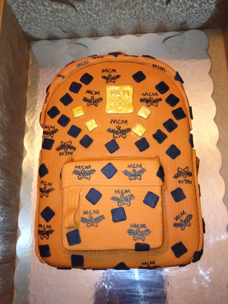 Mcm Backpack Cake