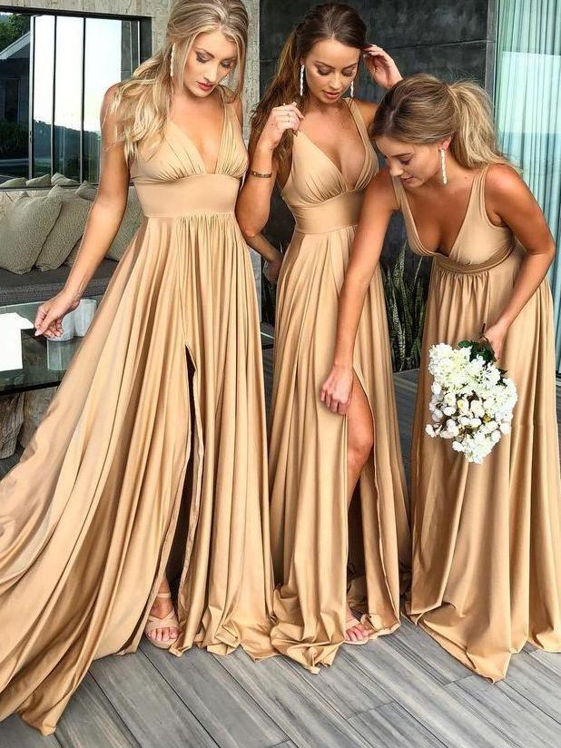Pinterest Kitkat I Satin Bridesmaid Dresses Maid