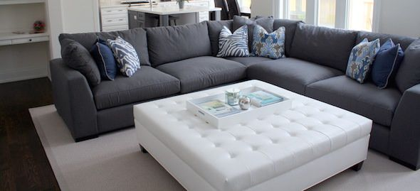 Interior Designer Jessica Ungerman's tips on choosing the right sectional for your family room.