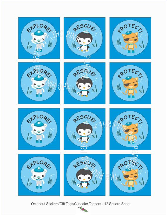 73 best Octonauts Party images on Pinterest Octonauts party