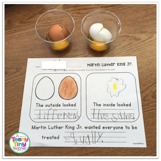 Dr. Martin Luther King, Jr Activities - A Teeny Tiny Teacher