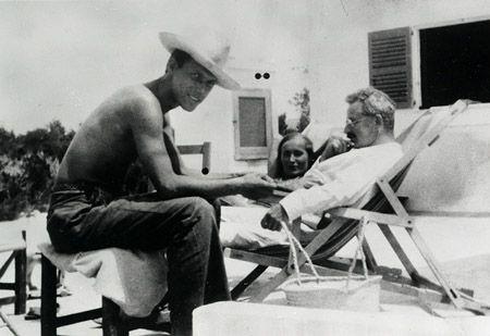 Walter Benjamin e Jean Selz a Ibiza