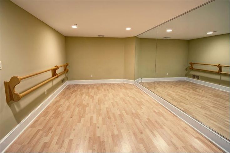 A dream of mine since I was a child. To have a dance studio in my own home!